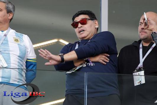 Maradona Buru Pembuat Kabar Hoax Kematian Dirinya di Media
