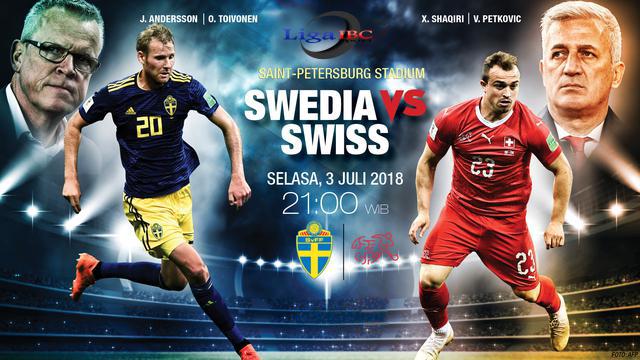 Sebagian besar Pemain Terbakar Swedia vs Swiss: Emil Forsberg