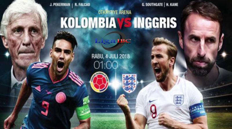 Prediksi Kolombia vs Inggris Piala Dunia 2018 Malam Ini