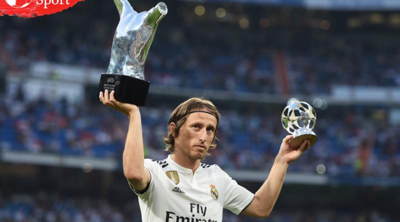 Luka Modric Mendapatkan Penghargaan Goal 50