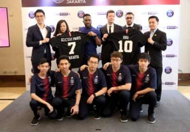 Kerjasama PSG dan Tim E-Sport RRQ Indonesia